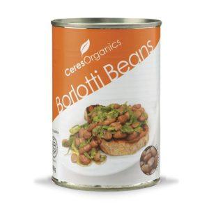 Ceres Organics Borlotti Beans 400g