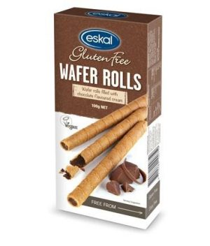 Eskal Chocolate Wafer Rolls 100g