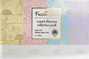 Frozen Bliss Ice cream - Mixed Collection Pack (4) 500g FROZEN