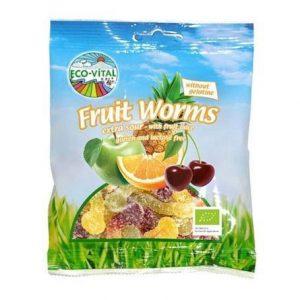 Eco Vital Fruity Snakes 100g