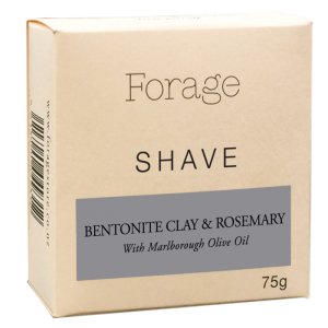 Forage Shave - Bentonite Clay and Rosemary
