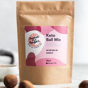 Sweet Not Sugar - Keto Ball Mix Chocolate and Raspberry 200g