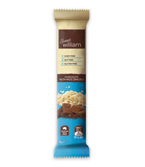 Sweet William Dairy Free Rice Crackle 50g