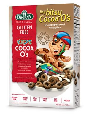 Orgran Itsy Bitsy Cocoa Os 300g