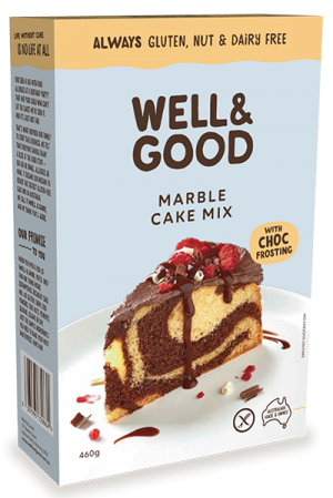 Well & Good Marble Cake Mix 460g