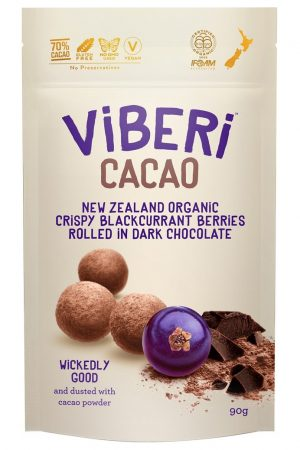 Viberi Cacao Blackcurrant Wickedly Good 90g