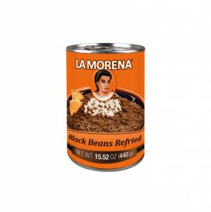 Lamorena Black Beans Refried 440g