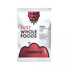 Just Whole Foods Vegan Jelly Crystals Raspberry 85g