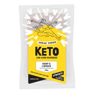 Venerdi Keto Bread - Hemp and Linseed 490g
