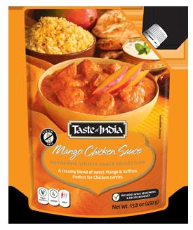 Taste of India - Mango Chicken Sauce 425g