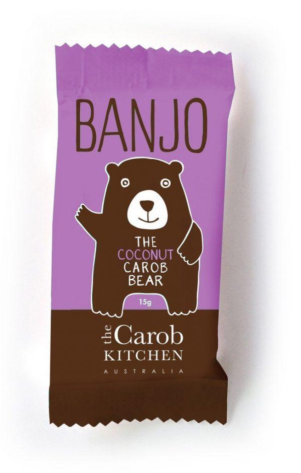 Banjo Coconut Carob Bear 15g VEGAN