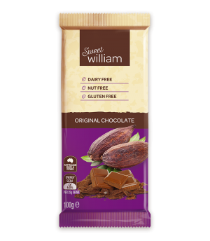 Sweet William Chocolate Original 100g
