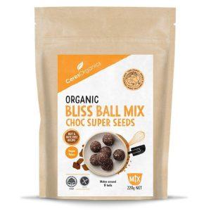 Ceres Organics Choc Super Seeds Bliss Ball Mix 220g