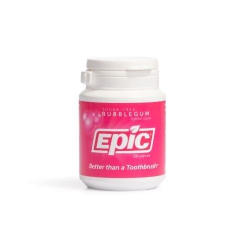 Epic BubbleGum Chewing Gum Bottle 50 Pieces