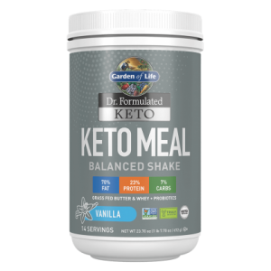 Garden of Life Keto Meal Balanced Shake - Vanilla 700g