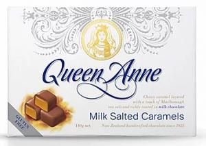 Queen Anne Milk Chocolate Salted Caramels 140g