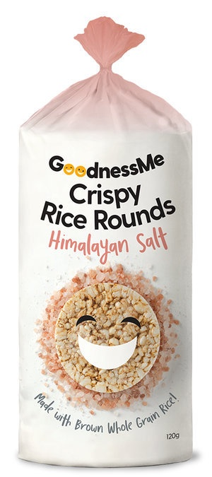 Goodness Me Rice Rounds- Himalayan Salt 120g