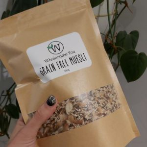 Wholesome You - Grain Free Muesli 500g