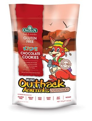 Orgran Kids Chocolate Share Pack Cookies 175g