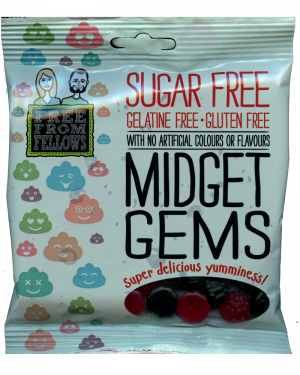Free From Fellows Midget Gems 100g
