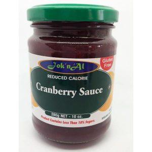 Jok n Al Cranberry Sauce 280g