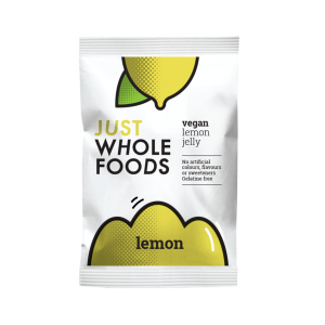 Just Whole Foods Vegan Jelly Crystals Lemon 85g