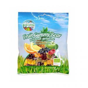 Eco Vital Fruit Gummy Bears 100g