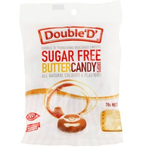 Double Ds Sugar Free Butter Candy Drops 70g