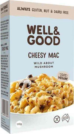 Well & Good Cheesy Mac Wild About Mushroom 110g