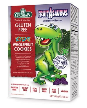 Orgran Fruitasaurus Kids Whole Fruit Cookies 175g