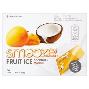Smooze Mango Fruit Ice Coconut 10x65ml 690g