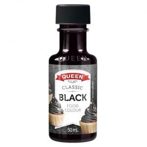 Queen Food Colour Black 50ml