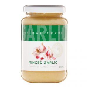 Spiral Foods Minced Garlic 220g