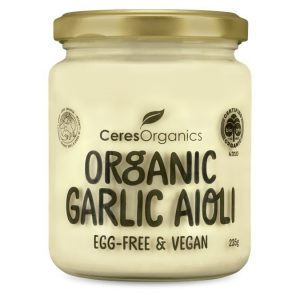 Ceres Organics Garlic Aioli 235g