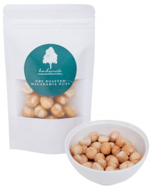 Harbourside Macadamias Dry Roasted 100g