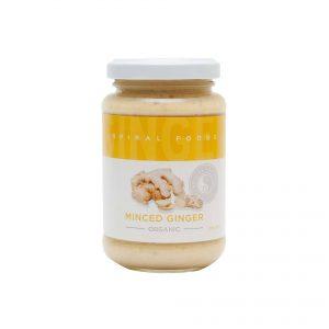 Spiral Foods Minced Ginger 210g