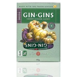 Gin Gins Chewy Ginger Candy 60g