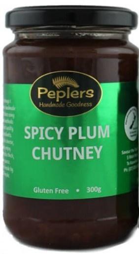 Peplers Spicy Plum Chutney 300g