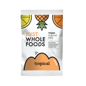 Just Whole Foods Vegan Jelly Crystals Tropical 85g