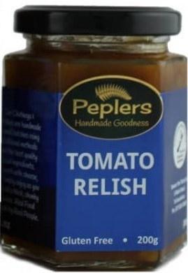 Peplers Tomato Relish 200g