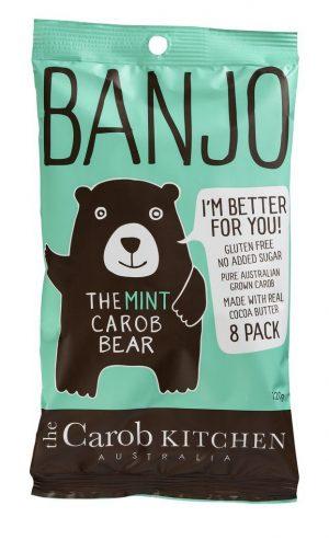 Banjo Mint Carob Bears (8) 120g