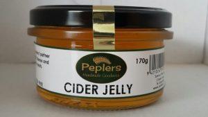 Peplers Cider Jelly 170g