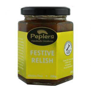 Peplers Festive Relish 200g