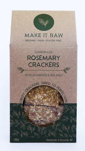 Make It Raw Rosemary Crackers 100g