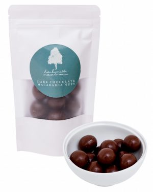 Harbourside Macadamias Dark Chocolate Macadamia Nuts 130g