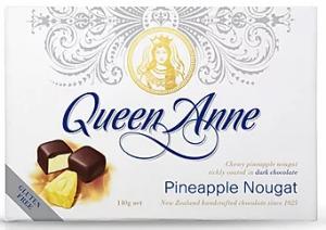Queen Anne Milk Chocolate Pineapple Marshmallow Fish 50g
