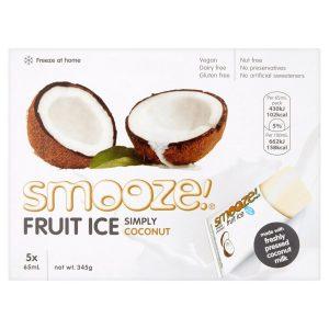 Smooze Simply Coconut Fruit Ice 10x65ml 690g