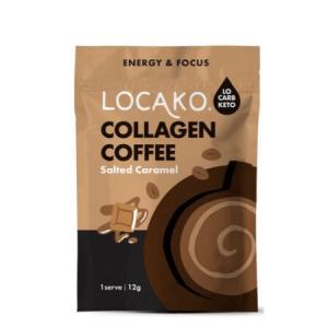 Locako Collagen Coffee Salted Caramel 14 x 12g serves 170g
