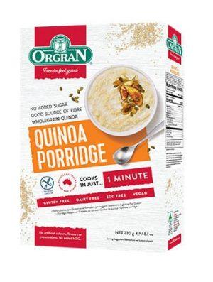 Orgran Quinoa Porridge 230g