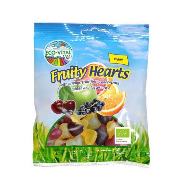 Eco Vital Fruity Hearts 100g